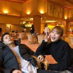 お笑い芸人イ・セヨン、二重まぶた整形予告後に日本人恋人と温泉旅行で幸せ