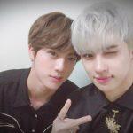 "「BTS(防弾少年団)」JIN&「VIXX」ケン、92年生まれの友情""サンドゥルはどこ"""