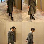 俳優ポン・テギュ、制作発表会にスカートファッションで登場…斬新コーディネートを着こなすおしゃれパパ