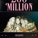 「BLACKPINK」、「Lovesick Girls」MV再生回数2億回突破