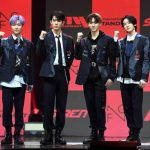 【フォト】FNC新人アイドルグループ「P1Harmony」、1stミニアルバム「DISHARMONY : STAND OUT」発売記念ショーケースを開催