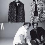 「SEVENTEEN」S.coups &Wonwoo &Mingyu &Vernon、卓越的な男性美