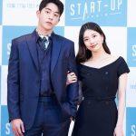 【フォト】スジ&ナム・ジュヒョク主演tvN土日ドラマ「START-UP」のオンライン制作発表会