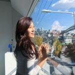 女優キム・ハヌル、晴天の青空のように美しい美貌を披露