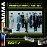 「2020 MAMA」GOT7、MAMAMOO、MONSTA X、TOMORROW X TOGETHER、TREASUREの出演が決定!