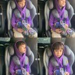 """""""8人目のメンバー?""""ウィリアムくん、「BTS」(特にRM)に夢中…紫色のパーカー姿で「Boy With Luv」熱唱"""
