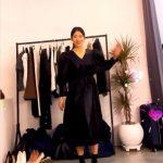 女優パク・シネ、ブラックベルベットのワンピースを着てくるくる~~(動画あり)