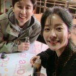 <トレンドブログ>女優ハン・ジミン、ユ・ヒヨルとほのぼの夜の散歩