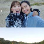 女優パク・ソダム×ソラ(MAMAMOO)、同い年の爽やかな友情ショットを公開