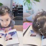 女優キム・ジウの娘、SUGA(BTS)ファンを証明!「パパ泣いちゃう」