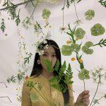<トレンドブログ>女優パク・シネ、ロングヘアで成熟した雰囲気…花の中に花が