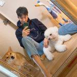<トレンドブログ>俳優ユン・ヒョンミン、愛犬と一緒に余裕ある日常
