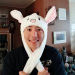 """俳優イ・サンウ、うさぎの帽子をかぶってかわいい表情…""""認証が遅れました~"""""""