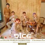 5人組ボーイズグループD1CEが12月20日(日)に D1CE 1st ONLINE WORLD FANMEETING (Christmas Party) 世界に向けて開催♪ ~遠くにいても楽しんでもらえるパーティーにします!~