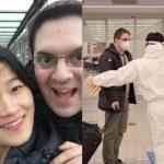お笑い芸人キム・ヘソン、新型コロナの影響で会えなかったドイツ人夫と1年ぶりの再会…入国姿公開