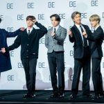 「PHOTO@ソウル」BTS(防弾少年団)、全世界が注目!新アルバム「BE(Deluxe Edition)」グローバル記者懇談会開催!SUGAは肩の療養のため欠席