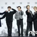 BTS(防弾少年団)、ニューアルバム「BE」が全英チャート2位にチャートイン!!