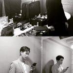 俳優キム・スヒョン、白黒フィルムを通り抜けるダンディーなスーツ姿にビジュアル爆発
