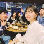 スジ(元Miss A)、俳優ナム・ジュヒョク、ユ・スビンとビールで飲み会「ソ代表のおごり」
