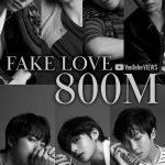 「BTS(防弾少年団)」、「FAKE LOVE」MV再生回数8億回突破