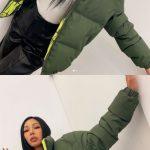 """歌手Jessi、冬物のジャンパーを着ても視線を惹き付けるスタイル…""""完璧なSライン"""""""