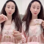 女優ハム・ソウォン、ピンク色のパジャマ姿で45歳の童顔な美貌を披露