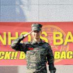 """「SHINee」ミンホ、除隊の所感""""こんな感情は初めて、待ってくれてありがとう"""""""