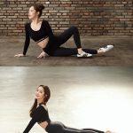 <トレンドブログ>女優パク・ミニョン、レギンス姿で引き締まったヒップと美腰を披露