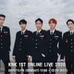 「KNK」、きょう(15日)初のオンラインライブ開催