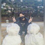 """東方神起ユンホ、2つの雪だるまは""""ユンホとチャンミン""""?童心にかえった姿に胸キュン!"""