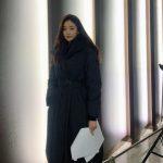 女優キム・サラン、撮影現場でも際立つ173cmに51kgの8頭身スタイルを披露