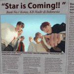 BTS(防弾少年団)、インドネシアに広告でKB国民銀行を伝える