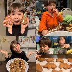 ウィリアムくん&ベントレーくん兄弟、「BTS(防弾少年団)」クッキーを完成しARMY認証…「お兄さんたち、ボラヘ(I Purple You)」