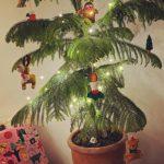 """女優コン・ヒョジン、個性的なクリスマスツリーを披露=""""シンプルでもムードは最高"""""""