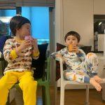 <トレンドブログ>ウィリアムくん、弟ベントレーくんとティータイムの余裕…かわいい兄弟