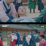≪韓国ドラマNOW≫「哲仁王后」5話、キム・ジョンヒョンが湖に飛込んだシン・ヘソンを救う