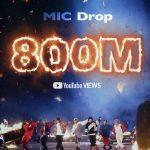 「公式」BTS(防弾少年団)、「MIC Drop」リミックスミュージックビデオ再生回数8億回突破…通算4度目