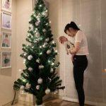 日本人タレントのサユリ、自発的シングルマザーになって息子と過ごす初クリスマス