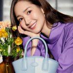 女優パク・ミニョン、花よりも美しい笑顔