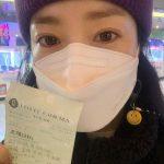 """女優ハン・ジミン、映画館で本人出演映画「ジョゼ」の観覧を認証""""観に来てくれて感謝"""""""