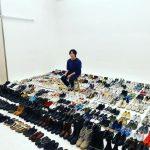 """<トレンドブログ>俳優チョン・イル、靴コレクションを自慢?!…""""何をしてるところでしょうか?""""(動画あり)"""
