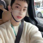 """チョ・グォン(2AM)、話題の""""ハン・ジミンマスク""""で女優のような美貌発揮"""