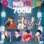 BTS(防弾少年団)「Dynamite」MV、再生回数7億回達成… 通算6番目