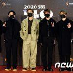 「PHOTO@大邱」BTS、SEVENTEEN、TWICEら、オンタクトで行われた「2020 SBS歌謡大典 in DAEGU」に参加