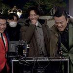PSY×Rain(ピ)×J.Y.Park(パク・チニョン)、豪華共演によるMV撮影現場での和気あいあいショット