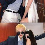 歌手ヒョナ、恋人DAWNとの超密着スキンシップ写真を公開