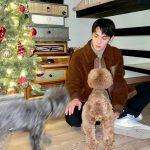 「SHINee」Key(キー)、階段下のスペースまでおしゃれ!愛犬と過ごす幸せなクリスマス