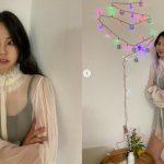 <トレンドブログ>元「Wonder Girls」アン・ソヒ、果敢なシースルーファッションで致命的な魅力発散