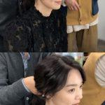 女優シン・ミナ、ブラックシースルー衣装にお茶目な表情…恋人キム・ウビンが惚れた美貌を公開