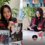 女優キム・ヒソン、「BTS(防弾少年団)」ジョングクのグラビアを先取り…ファンを認証
